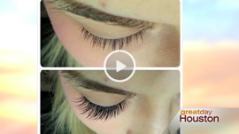 Ets...Lash Studio was featured on Great Day Houston KHOU