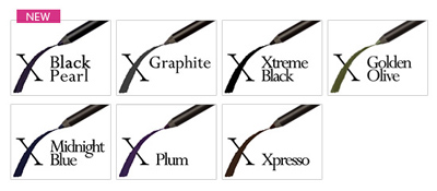 Xtreme Lashes Glideliner Pencil Colors