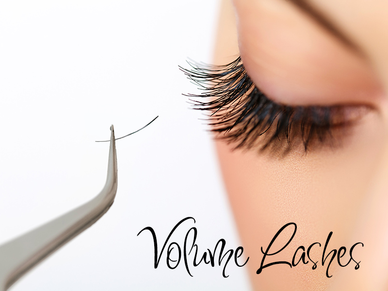 Volume eyelash extensions by ETS Lash Studio
